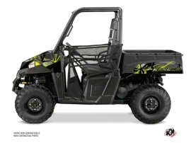 Polaris Ranger 570 UTV Evil Graphic Kit Grey Green