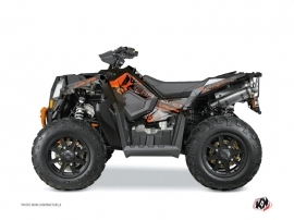 Kit Déco Quad Evil Polaris Scrambler 850-1000 XP Gris Orange