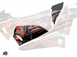 Graphic Kit Doors Origin Low Evil UTV Polaris RZR 900S 2015-2019 Grey Orange