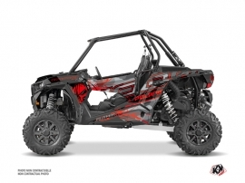 Kit Déco SSV Evil Polaris RZR 1000 Gris Rouge