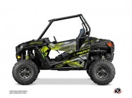 Polaris RZR 900 S UTV Evil Graphic Kit Grey Green