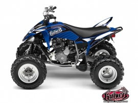 Yamaha 250 Raptor ATV Factory Graphic Kit Blue