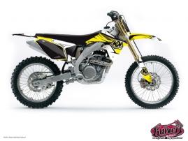 Suzuki 250 RMZ Dirt Bike Factory Graphic Kit