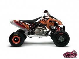 KTM 450-525 SX ATV Factory Graphic Kit