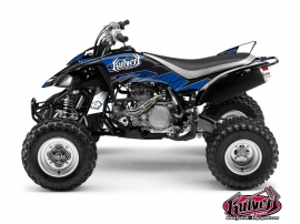 Yamaha 450 YFZ ATV Factory Graphic Kit Blue