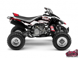 Yamaha 450 YFZ ATV Factory Graphic Kit Red