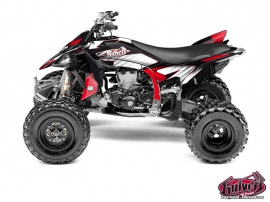 Yamaha 450 YFZ R ATV Factory Graphic Kit Red