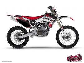 Yamaha 450 YZF Dirt Bike Factory Graphic Kit Red