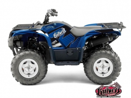Yamaha 550-700 Grizzly ATV Factory Graphic Kit Blue