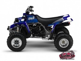 Yamaha Banshee ATV Factory Graphic Kit Blue
