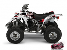 Yamaha Blaster ATV Factory Graphic Kit Red