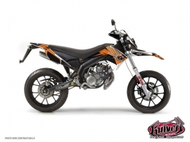 Derbi DRD Xtreme 50cc Factory Graphic Kit Orange