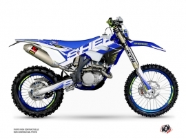 Sherco SE / SEF Dirt Bike Fast Graphic Kit Blue