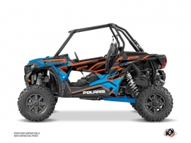 Kit Déco SSV Faster Polaris RZR 1000 Turbo Orange Bleu