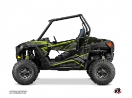 Polaris RZR 900 S UTV Faster Graphic Kit Neon Grey