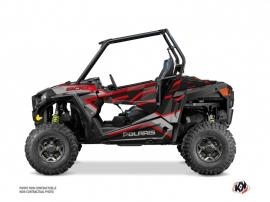 Polaris RZR 900 S UTV Faster Graphic Kit Black Red