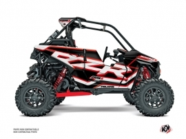 Kit Déco SSV Faster Polaris RZR RS1 Blanc Rouge FULL