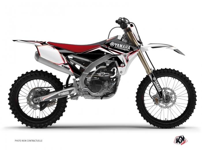 Yamaha 450 yzf dirt bike concept graphic kit red kutvek for Yamaha yzf 450