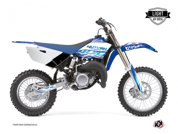 Kit Déco Moto Cross Eraser Yamaha 85 YZ Bleu LIGHT