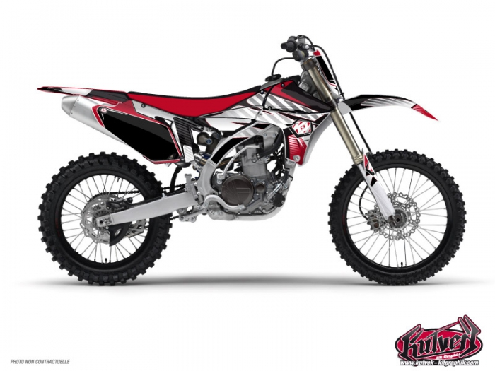 Kit Déco Moto Cross Factory Yamaha 125 YZ Rouge