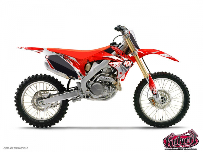 Honda 450 Crf Dirt Bike Graff Graphic Kit Kutvek Kit Graphik