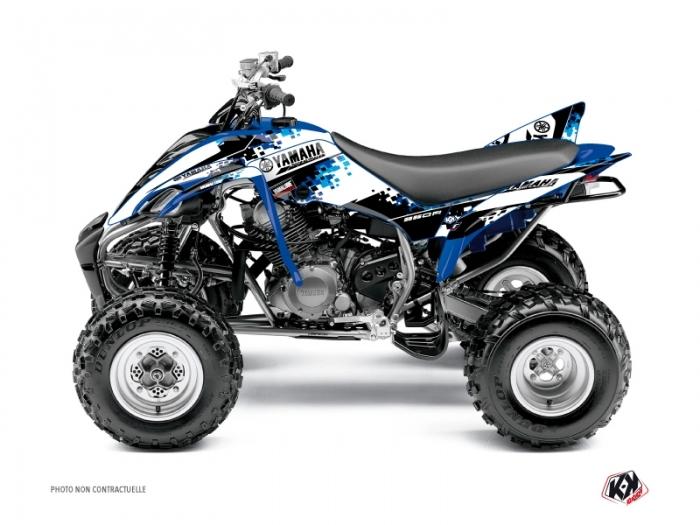 Yamaha 350 Raptor ATV Hangtown Graphic Kit Blue - Kutvek Kit Graphik