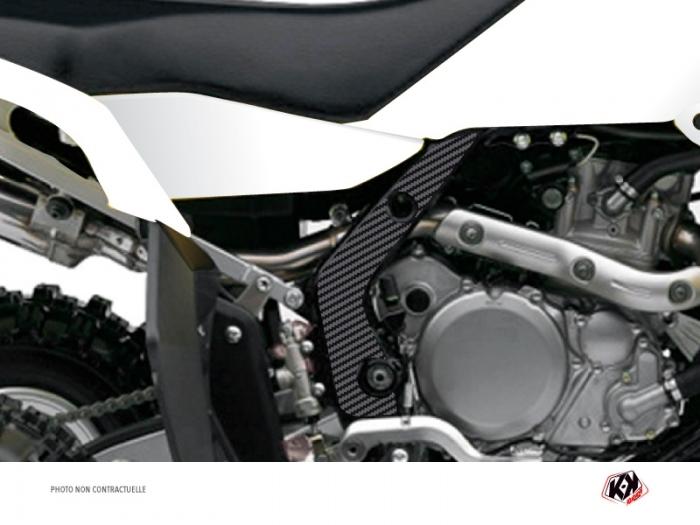 Graphic Kit Frame protection ATV Kutvek Suzuki 450 LTR Carbon