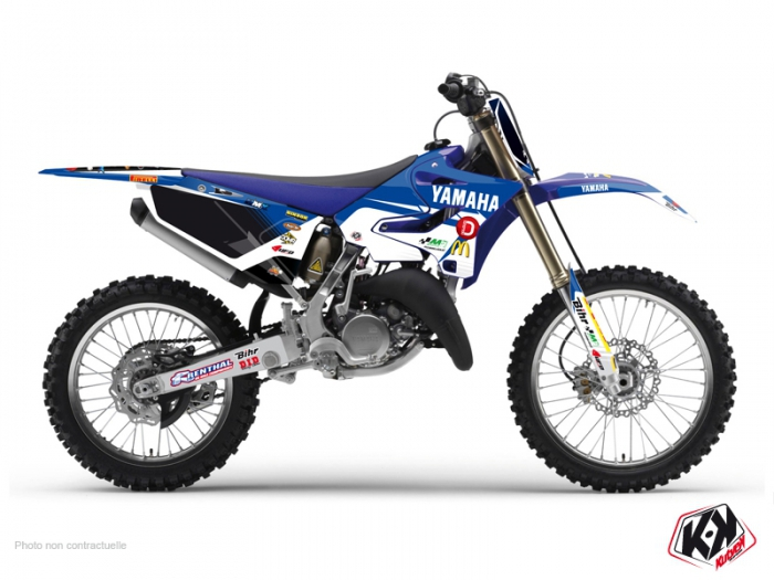 Yamaha 125 YZ Dirt Bike Replica Team Pichon Graphic Kit 2015