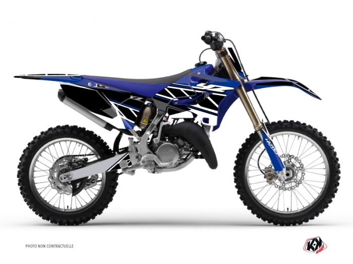 Yamaha 125 YZ Dirt Bike Replica Graphic Kit Blue