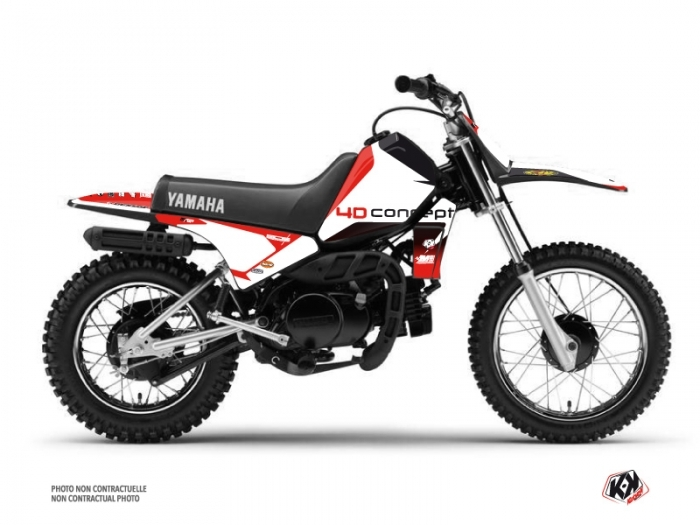 Yamaha PW 80 Dirt Bike Replica BOS Graphic Kit