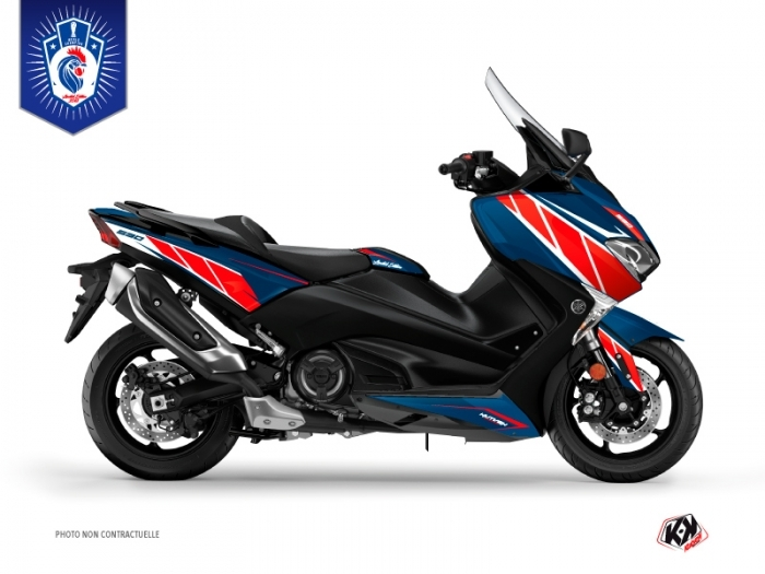 Yamaha TMAX 530 Maxiscooter Replica France 2018 Limited Edition Graphic Kit
