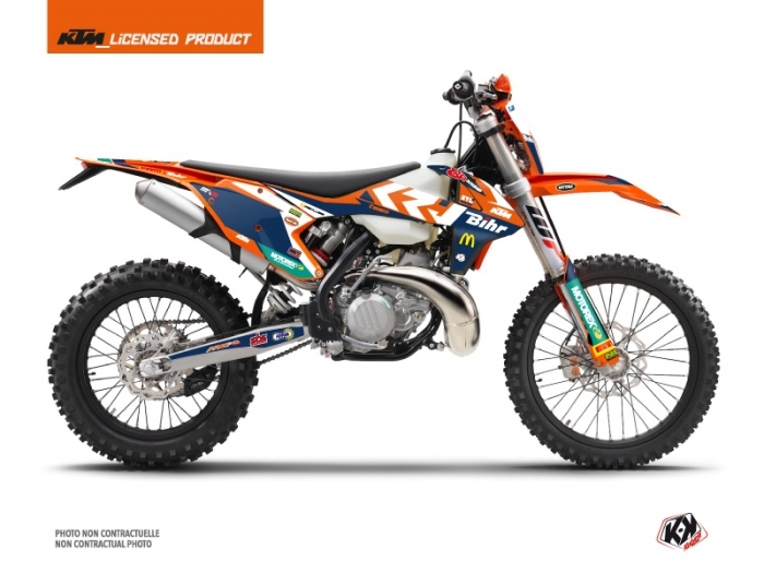 KTM EXC-EXCF Dirt Bike Replica Pichon Graphic Kit
