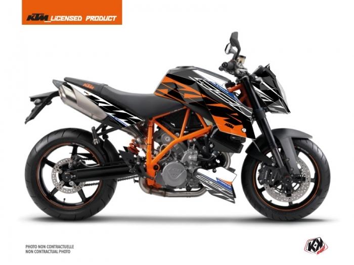 KTM Super Duke 990 Street Bike Spring Graphic Kit White Orange ...