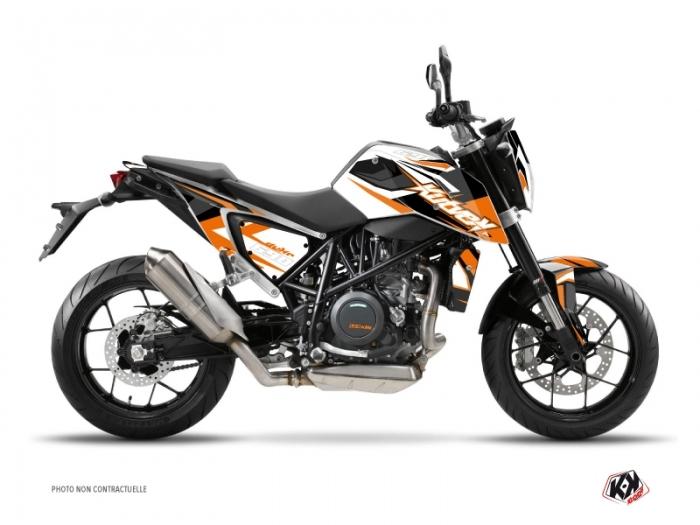 KTM Duke 690 R Street Bike Stage Graphic Kit Orange
