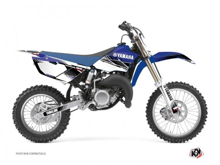 Kit Déco Moto Cross Stripe Yamaha 85 YZ Bleu