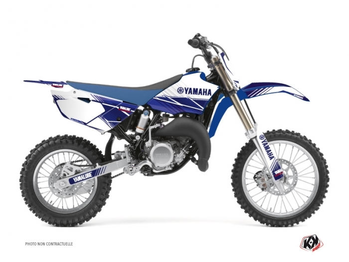 Yamaha 85 YZ Dirt Bike Stripe Graphic Kit Night Blue