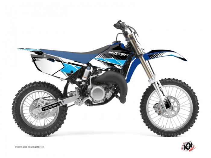 Yamaha 85 YZ Dirt Bike Stripe Graphic Kit Black