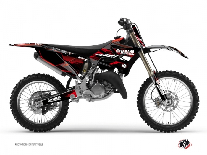 Yamaha 125 YZ Dirt Bike Techno Graphic Kit Red