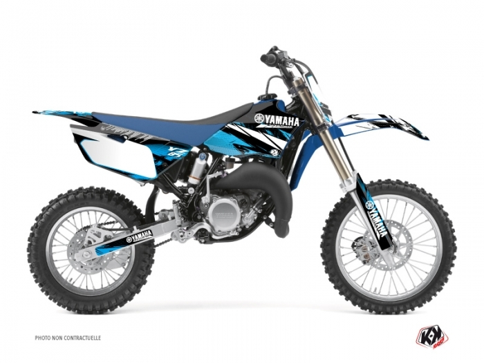 Kit Déco Moto Cross Techno Yamaha 85 YZ Bleu
