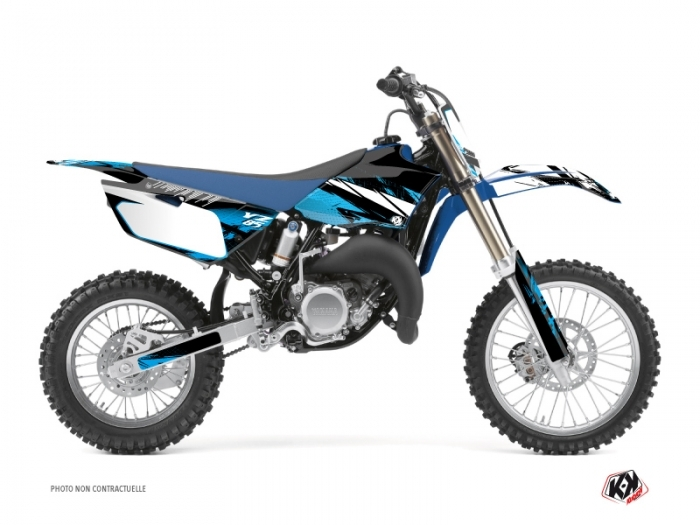 Yamaha 85 YZ Dirt Bike Techno Graphic Kit Blue