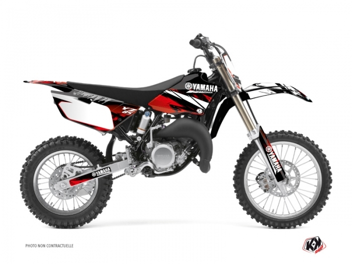 Yamaha 85 YZ Dirt Bike Techno Graphic Kit Red