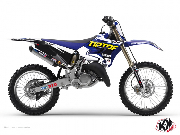 Kit Déco Moto Cross Replica Team Tip Top Yamaha 125 YZ 2015