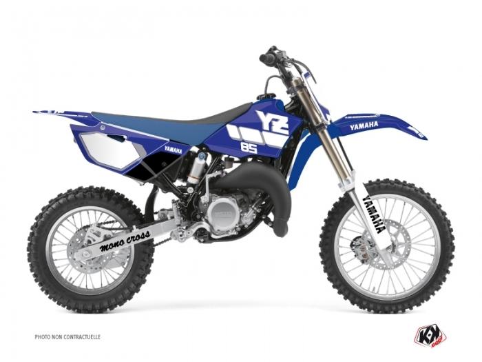 Yamaha 85 YZ Dirt Bike Vintage Graphic Kit Blue