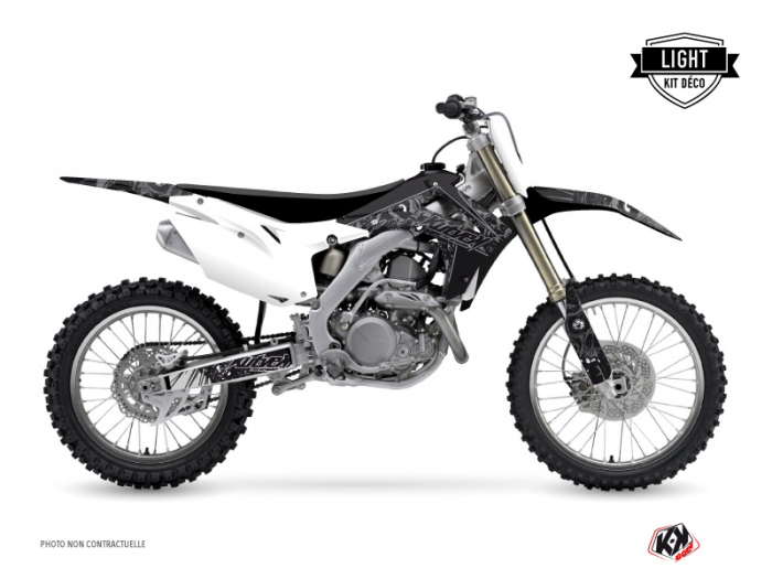 honda 250 crf dirt bike zombies dark graphic kit black