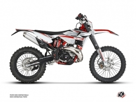 Beta 250 RR 2-stroke Dirt Bike FIRENZE Graphic Kit White Red Black