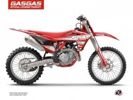 GASGAS MC 125 Dirt Bike Flash Graphic Kit Red