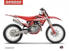 Kit Déco Moto Cross Flash GASGAS EXF 350 Noir
