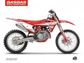 Kit Déco Moto Cross Flash GASGAS EXF 350 Rouge