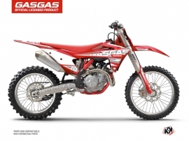 GASGAS MCF 450 Dirt Bike Flash Graphic Kit Red