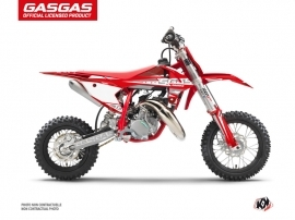 GASGAS MC 50 Dirt Bike Flash Graphic Kit Red